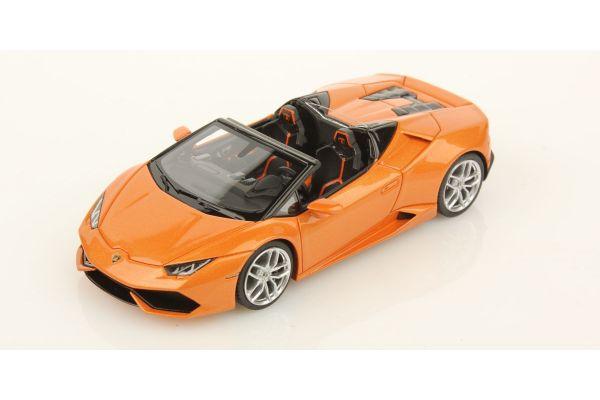 LOOKSMART 1/43scale Lamborghini Huracan LP 610-4 Spyder Orange [No.LS452B]