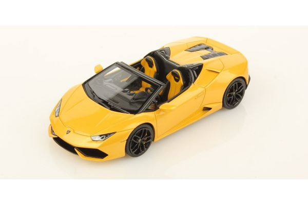 LOOKSMART 1/43scale Lamborghini Huracan LP 610-4 Spyder Yellow [No.LS452D]