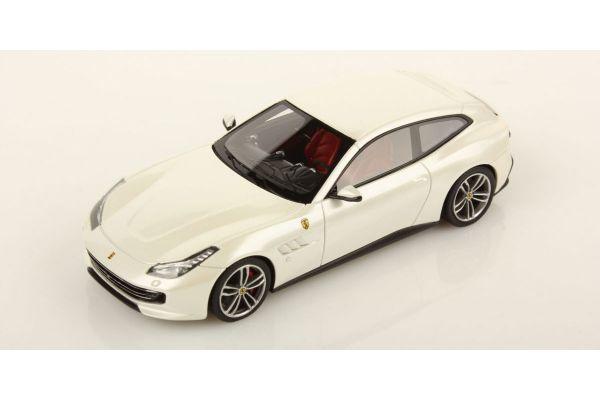 LOOKSMART 1/43scale Ferrari GTC4 Lusso Bianco Italia White  [No.LS456C]