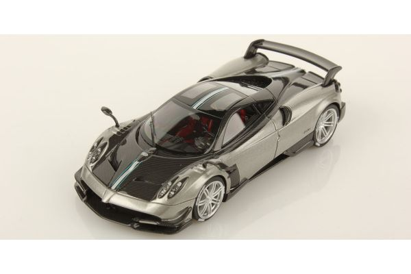 LOOKSMART 1/43scale Pagani Huayra BC Silver/Carbon  [No.LS457A]