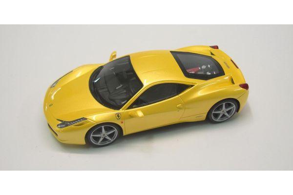 LOOKSMART 1/43scale Ferrari  458 Italia (Giallo Tristrato) Metallic Yellow [No.LS458E]