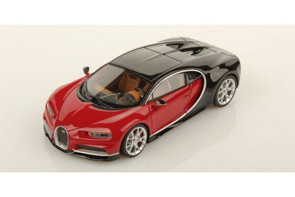 LOOKSMART 1/43scale Bugatti Chiron Nocturne / Italian Red  [No.LS459B]