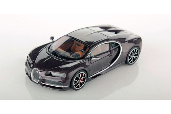 LOOKSMART 1/43scale Bugatti Chiron Brown Carbon  [No.LS459I]