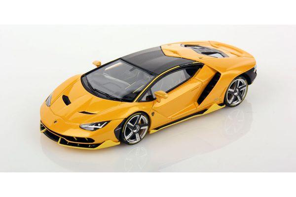 LOOKSMART 1/43scale Lamborghini Centenario Giallo Midas Yellow [No.LS460B]