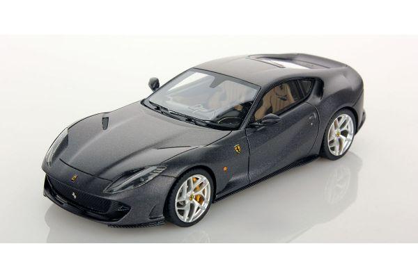 LOOKSMART 1/43scale Ferrari 812 SuperFast Grigio Caldo Opaco [No.LS467B]