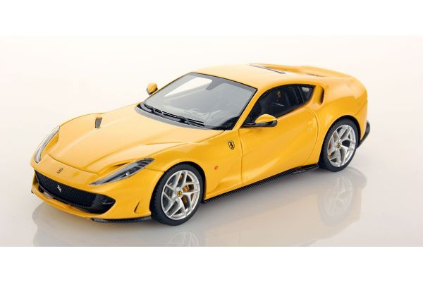 LOOKSMART 1/43scale Ferrari 812 SuperFast Giallo Tristrato [No.LS467D]