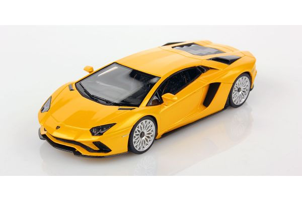 LOOKSMART 1/43scale Lamborghini Aventador S NEW GIALLO ORION Yellow  [No.LS468A]