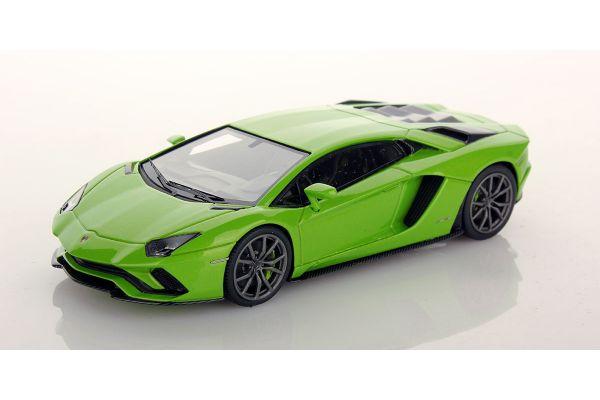 LOOKSMART 1/43scale Lamborghini Aventador S VERDE MANTIS Green  [No.LS468B]