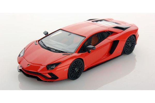 LOOKSMART 1/43scale Lamborghini Aventador S ARANCIO ARGOS Orange  [No.LS468C]