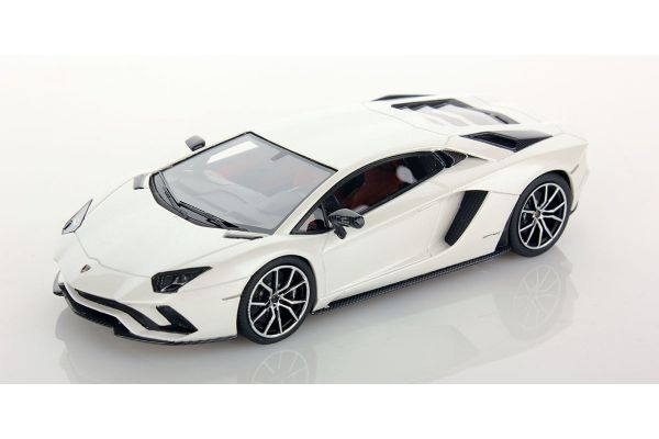 LOOKSMART 1/43scale Lamborghini Aventador S Balloon White  [No.LS468D]
