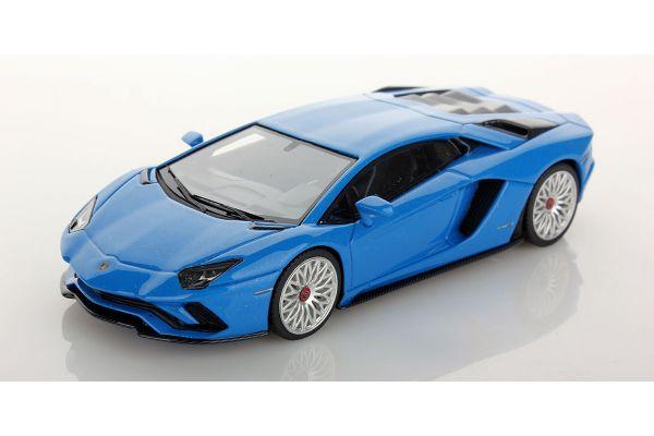 LOOKSMART 1/43scale Lamborghini Aventador S Blu Nila (Blue)  [No.LS468G]