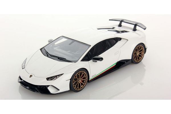 LOOKSMART 1/43scale Lamborghini Huracan Performante Bianco Monocerus White [No.LS469C]