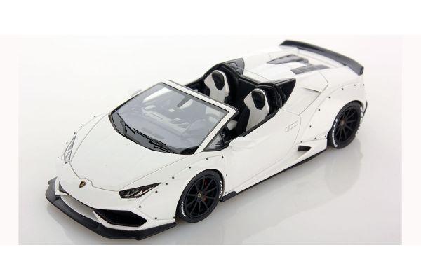 LOOKSMART 1/43scale Lamborghini Huracan Spider Aftermarket Bianco Monocerus  [No.LS470B]