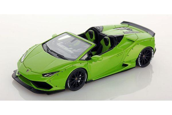 LOOKSMART 1/43scale Lamborghini Huracan Spider Aftermarket Verde Mantis  [No.LS470D]