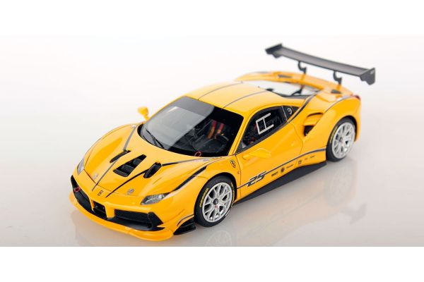 LOOKSMART 1/43scale Ferrari 488 Challenge GIALLO MODENA (Yellow)  [No.LS476A]