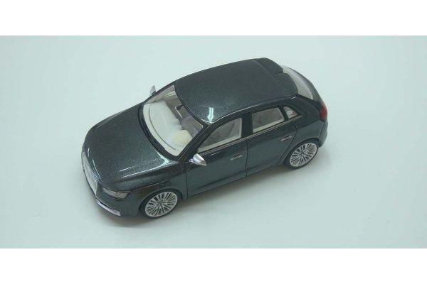 LOOKSMART 1/43scale Audi  A1 Sportback Gray Metallic [No.LSAUDIA1SB]