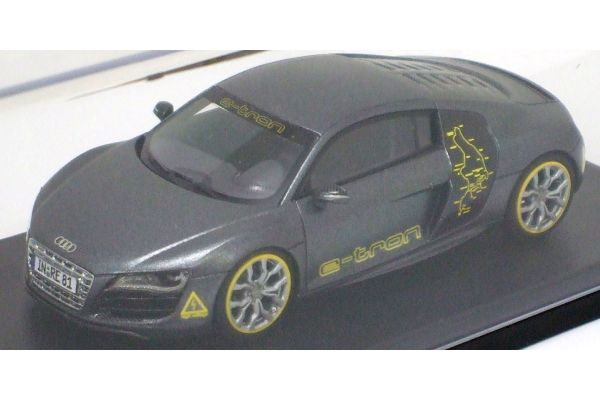 LOOKSMART 1/43scale Audi  R8 Silvretta Classic Gray [No.LSAUDIR8]