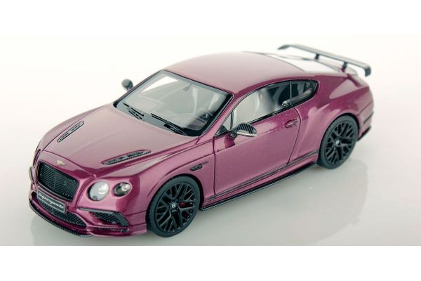 LOOKSMART 1/43scale Bentley Continental Supersports Magenta (Purple Red)  [No.LSBT012B]
