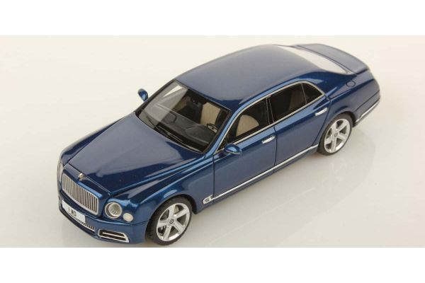 LOOKSMART 1/43scale Bentley Mulsanne Speed Sequine Blue  [No.LSBT09A]