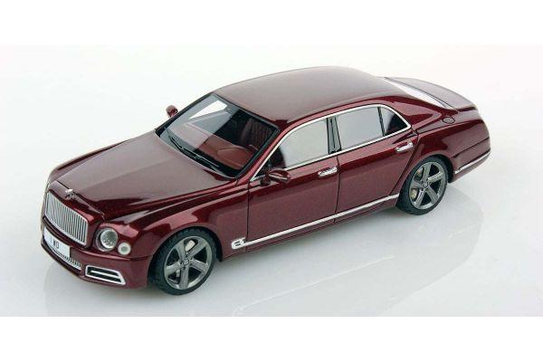 LOOKSMART 1/43scale Bentley Mulsanne Speed Rubino Red  [No.LSBT09B]