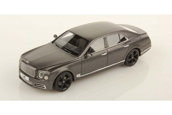 LOOKSMART 1/43scale Bentley Mulsanne Speed Dark Grey Satin  [No.LSBT09C]