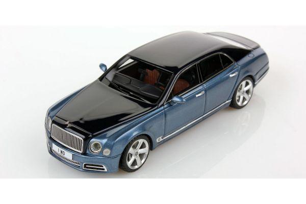LOOKSMART 1/43scale Bentley Mulsanne Speed Dark Sapphire Over Pale Sapphire  [No.LSBT09D]