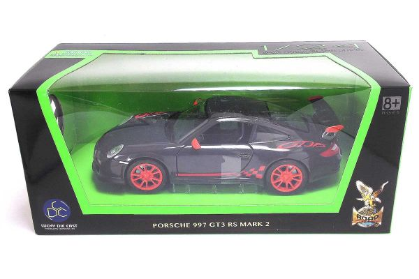 LUCKY DIE CAST 1/24scale Porsche 997 GT3 RS Mark 2 GRAY [No.LUC24213G]