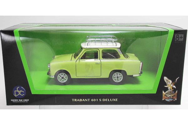 LUCKY DIE CAST 1/24scale Trabant 601 S Deluxe LIGHT GREEN [No.LUC24217LG]