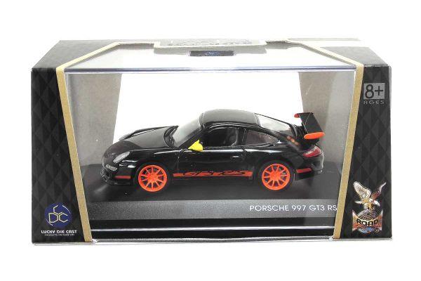 LUCKY DIE CAST 1/43scale Porsche 997 GT3 RS BLACK [No.LUC43204BK]