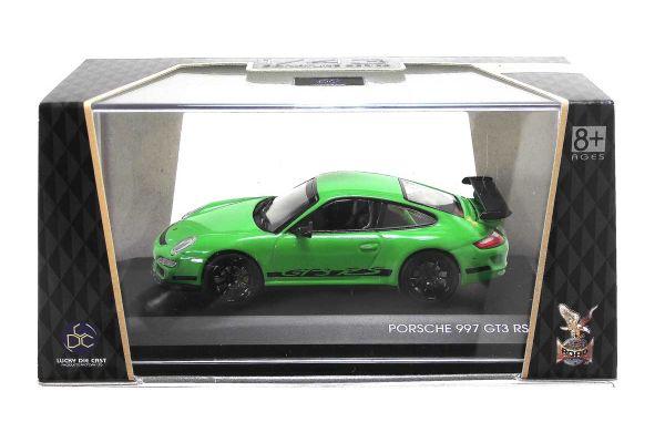 LUCKY DIE CAST 1/43scale Porsche 997 GT3 RS GREEN [No.LUC43204GR]