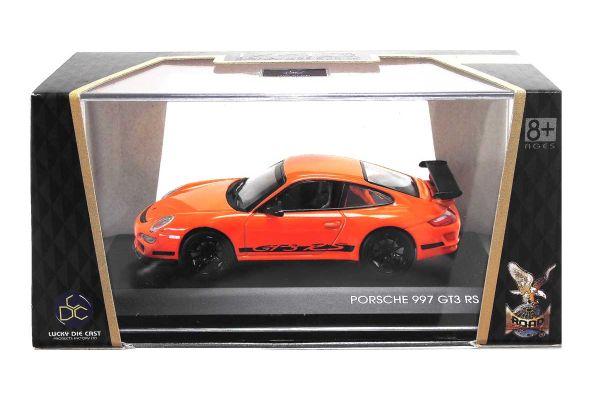 LUCKY DIE CAST 1/43scale Porsche 997 GT3 RS ORANGE [No.LUC43204OR]