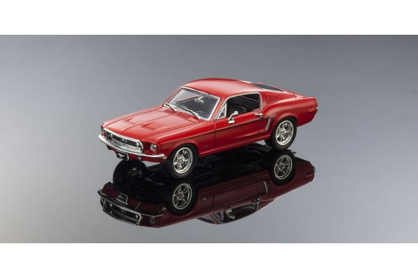LUCKY DIE CAST 1/43scale 1968 Ford Mustang GT RED [No.LUC43206R]