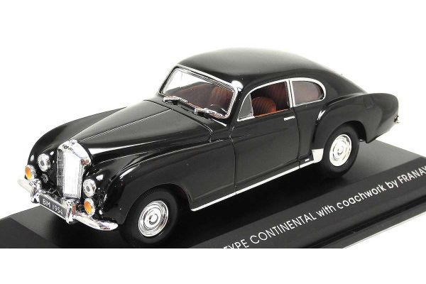 LUCKY DIE CAST 1/43scale 1954 Bentely R Type BLACK [No.LUC43212BK]