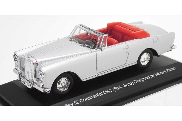 LUCKY DIE CAST 1/43scale 1961 Bentley S2 Continental DHC (Park Ward) SILVER [No.LUC43214S]
