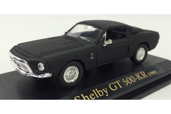 LUCKY DIE CAST 1/43scale 1968 Shelby GT-500KR Matt Black [No.LUC94214B]