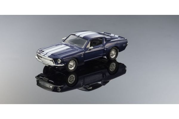 LUCKY DIE CAST 1/43scale 1968 Shelby GT-500KR METALLIC BLUE [No.LUC94214BL]