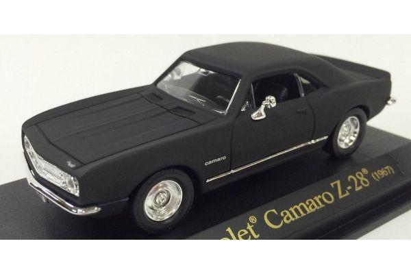 LUCKY DIE CAST 1/43scale 1967 Chevrolet Camaro Z-28 Matt Black [No.LUC94216B]