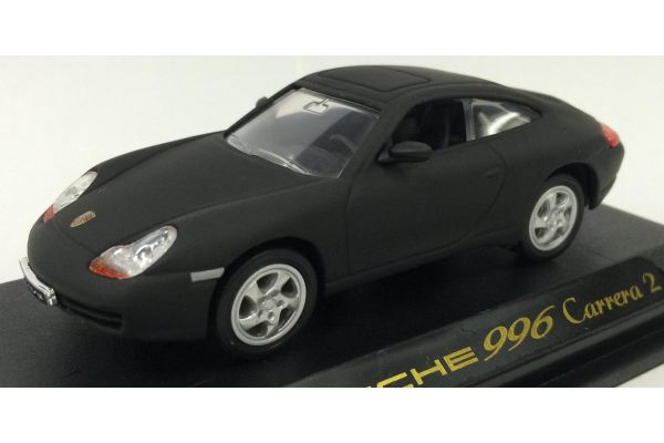 LUCKY DIE CAST 1/43scale 1998 Porsche 911 Carrera (996) Matt Black [No.LUC94221B]