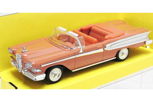 LUCKY DIE CAST 1/43scale 1958 Edsel Citation ORANGE [No.LUC94222OR]