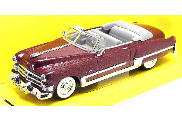 LUCKY DIE CAST 1/43scale 1949 Cadillac Coupe Deville BURGUNDY [No.LUC94223BU]