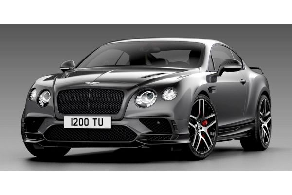 LOOKSMART 1/43scale Bentley Continental Supersports Magnetic (Silver)  [No.LSBT012A]