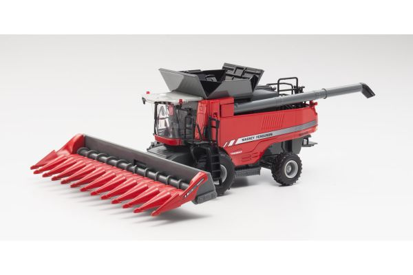 SPECCAST 1/64scale Massey Ferguson 9545 w/Fat Singles Grain Head & Corn Head Red  [No.MDSCT540]