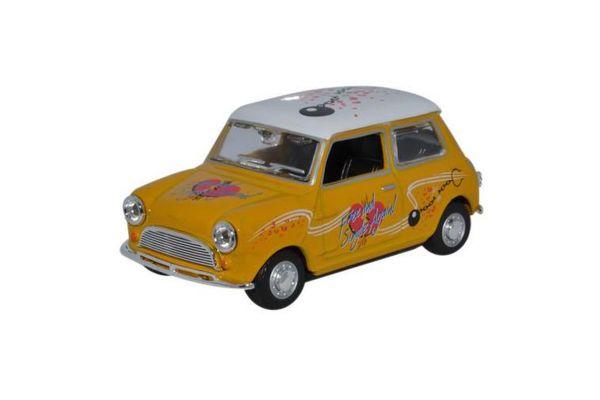 OXFORD 1/43scale Mini Cooper  Yellow