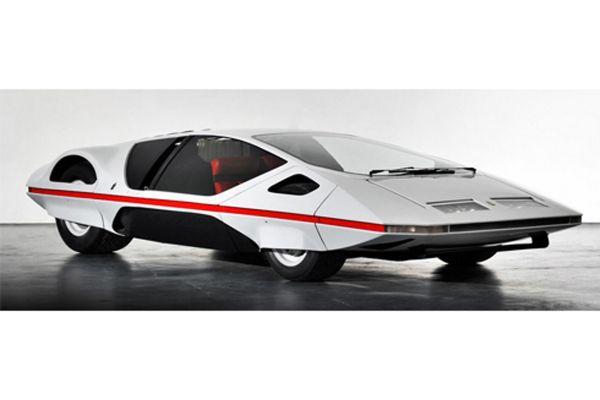 LA MINI MINIERA 1/43scale Ferrari Modulo 1970 White [No.MMEPF003]