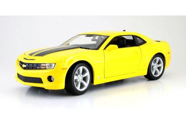MAISTO 1/18scale Chevrolet Camaro RS 2010 Yellow  [No.MS31173Y]