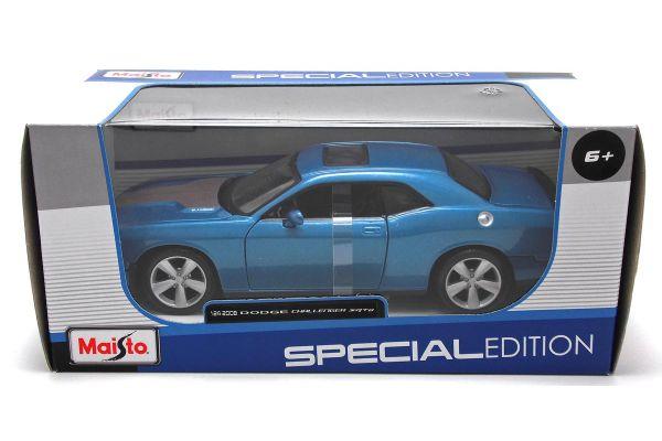 MAISTO 1/24scale 2008 Dodge Challenger SRT8 (Metallic Blue)  [No.MS31280MB]