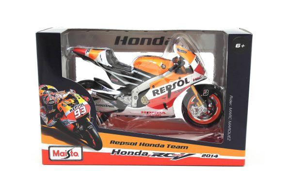 MAISTO 1/10scale Honda Repsol RC213V Marc Marquez No.93 Moto GP2014  [No.MS31406-93]