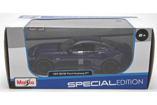 MAISTO 1/24scale 2015 Ford Mustang GT (Metallic Blue)  [No.MS31508MB]