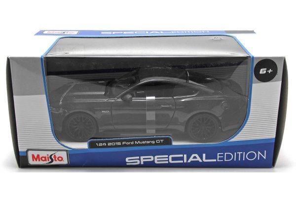MAISTO 1/24scale 2015 Ford Mustang GT (Metallic Gray)  [No.MS31508MG]