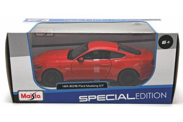 MAISTO 1/24scale 2015 Ford Mustang GT (Red)  [No.MS31508R]